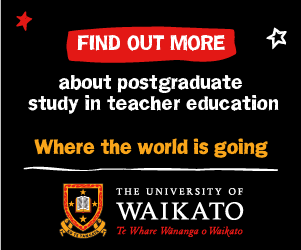 Find out more about postgraduate study in education. Where the world is going: University of Waikato